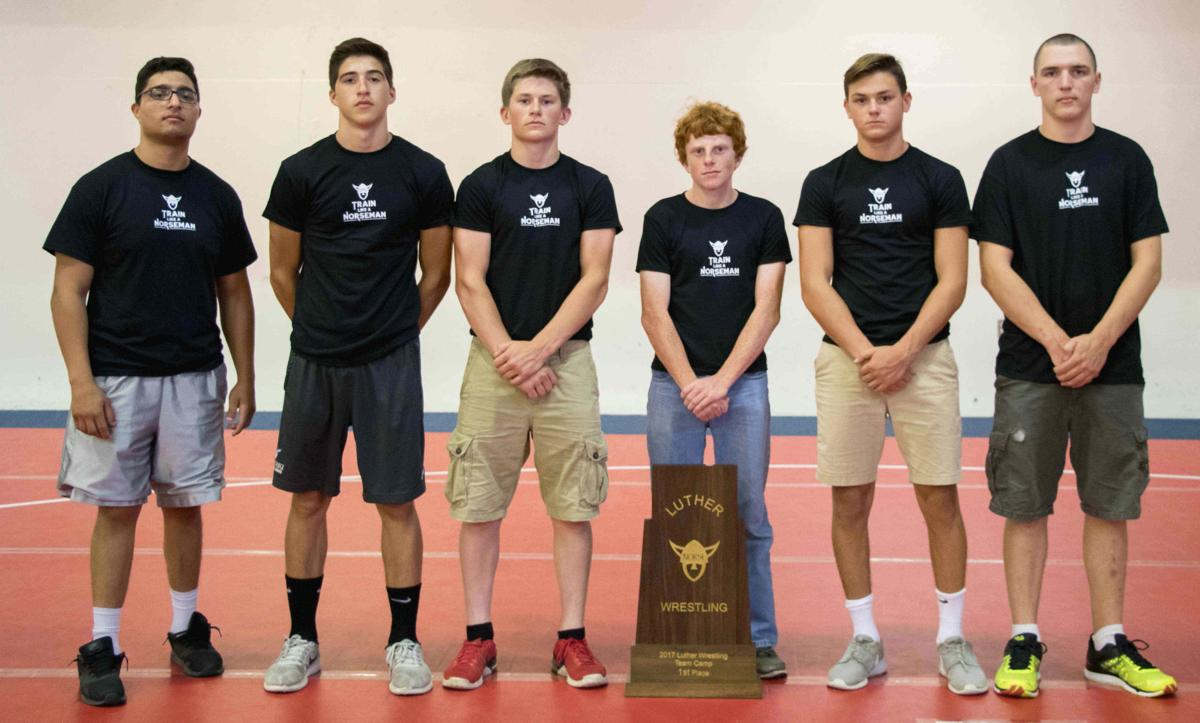 Luther camp: Westby wrestlers