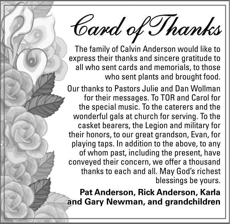 Calvin Anderson