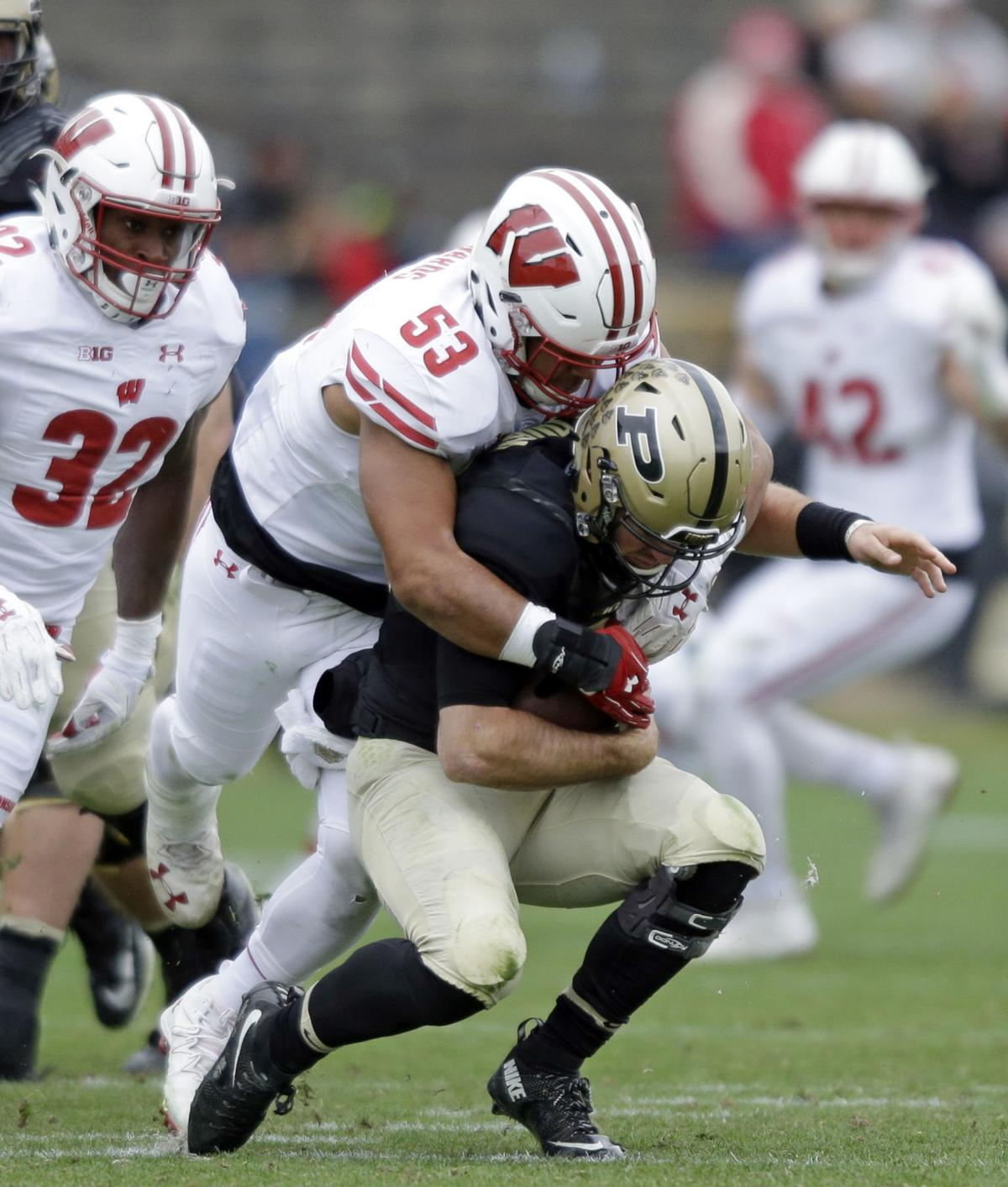 Big second quarter helps Badgers take out Purdue | Sports ...