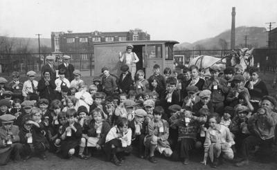 The Way it Was: 1922 milk break