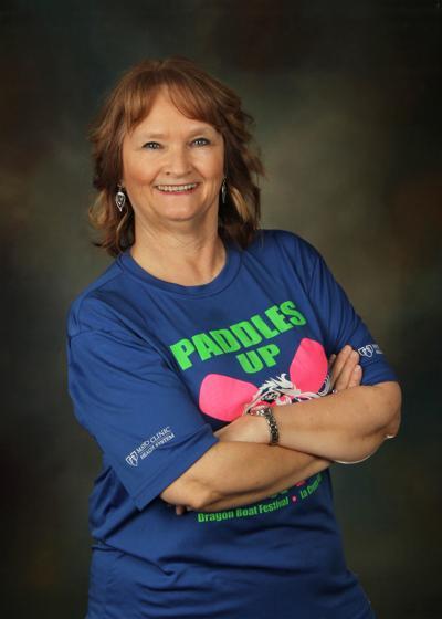 Dragon boat ambassador Debbie Koenig