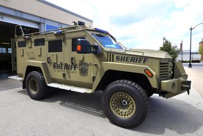 La Crosse Sheriff's Department acquires new Bearcat | Local