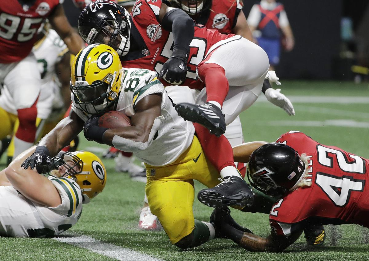 RB Ty Montgomery scores vs. Falcons