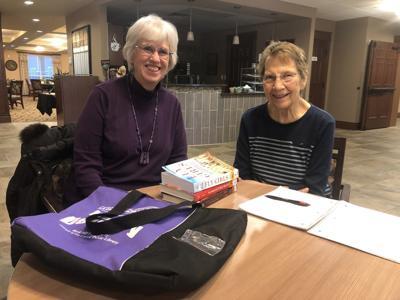Delivering books sparks friendship