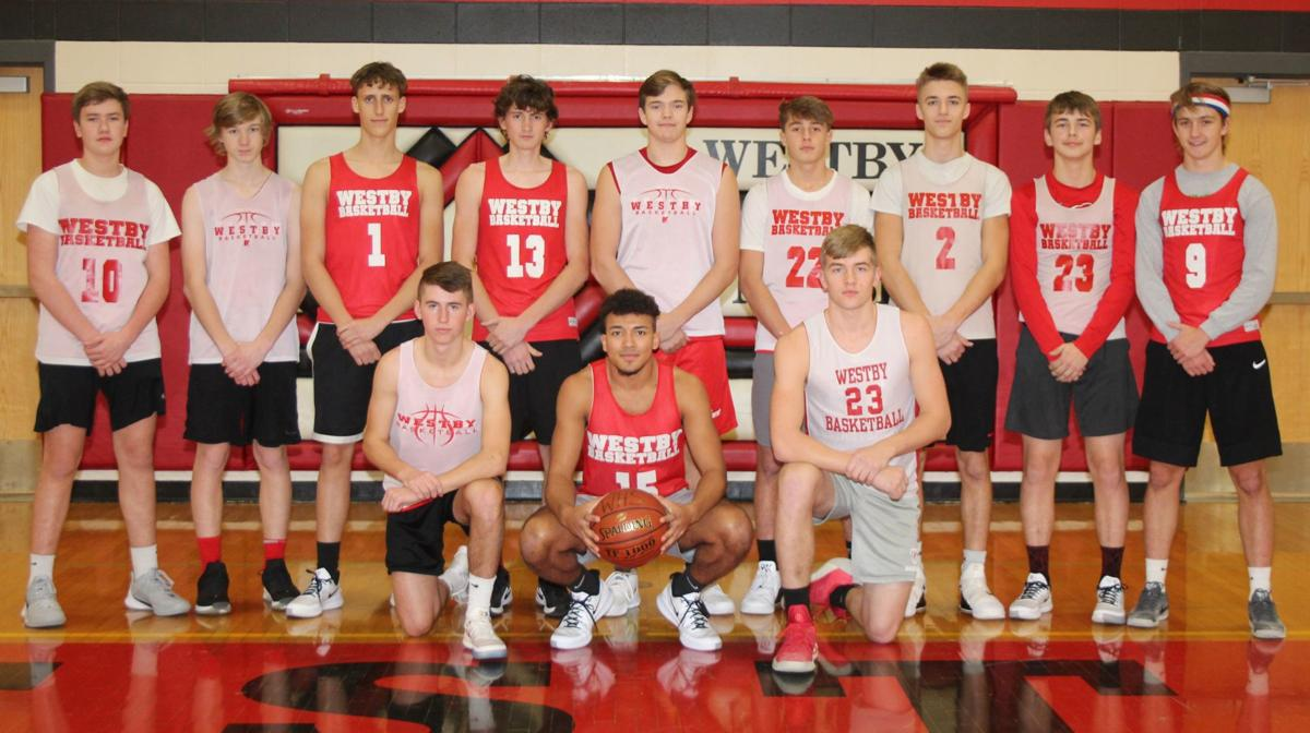 Westby High School boys basketball team 2019