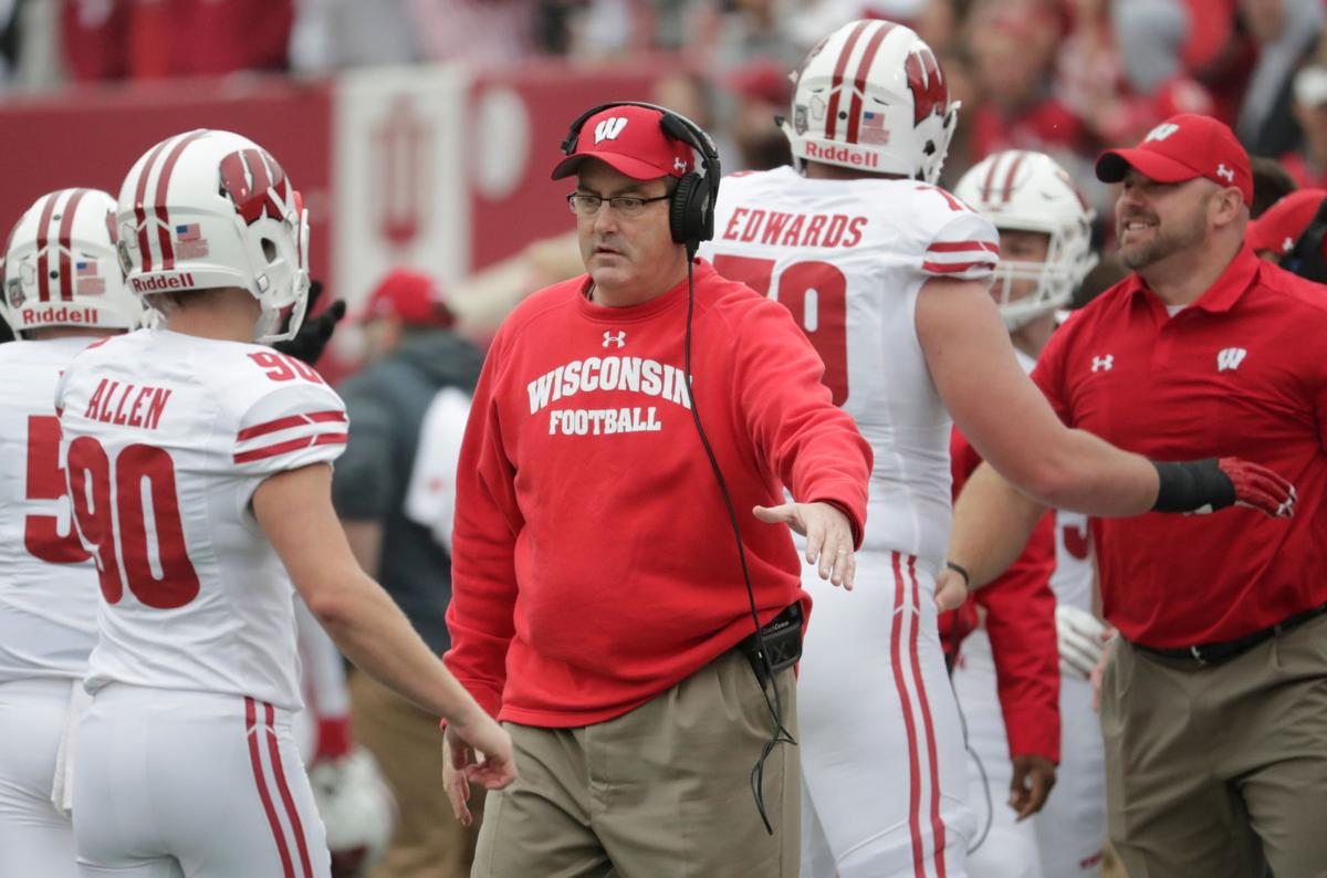 Paul Chryst-App state scheduled