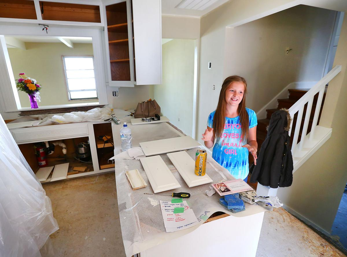 Flipping off debt: West Salem fifth-grader turning houses into cash for college