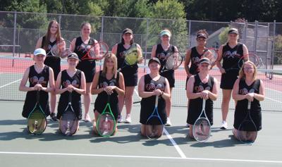 2021 Viroqua High School girls tennis team