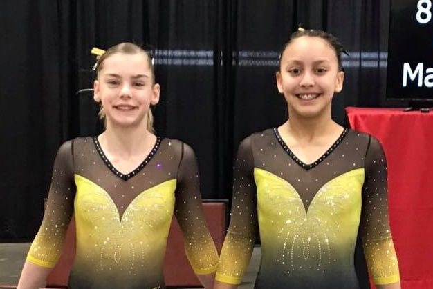 Youthful gymnasts