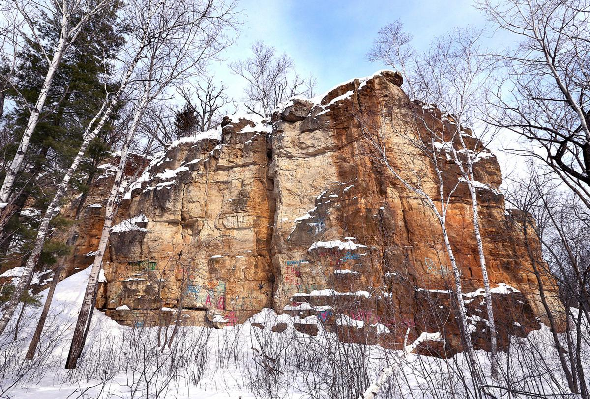 Rock Climbing Push