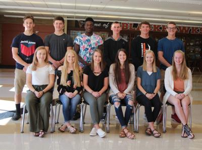 2018 VHS homecoming court