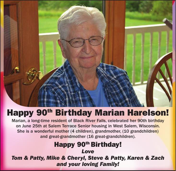 Marian Harelson