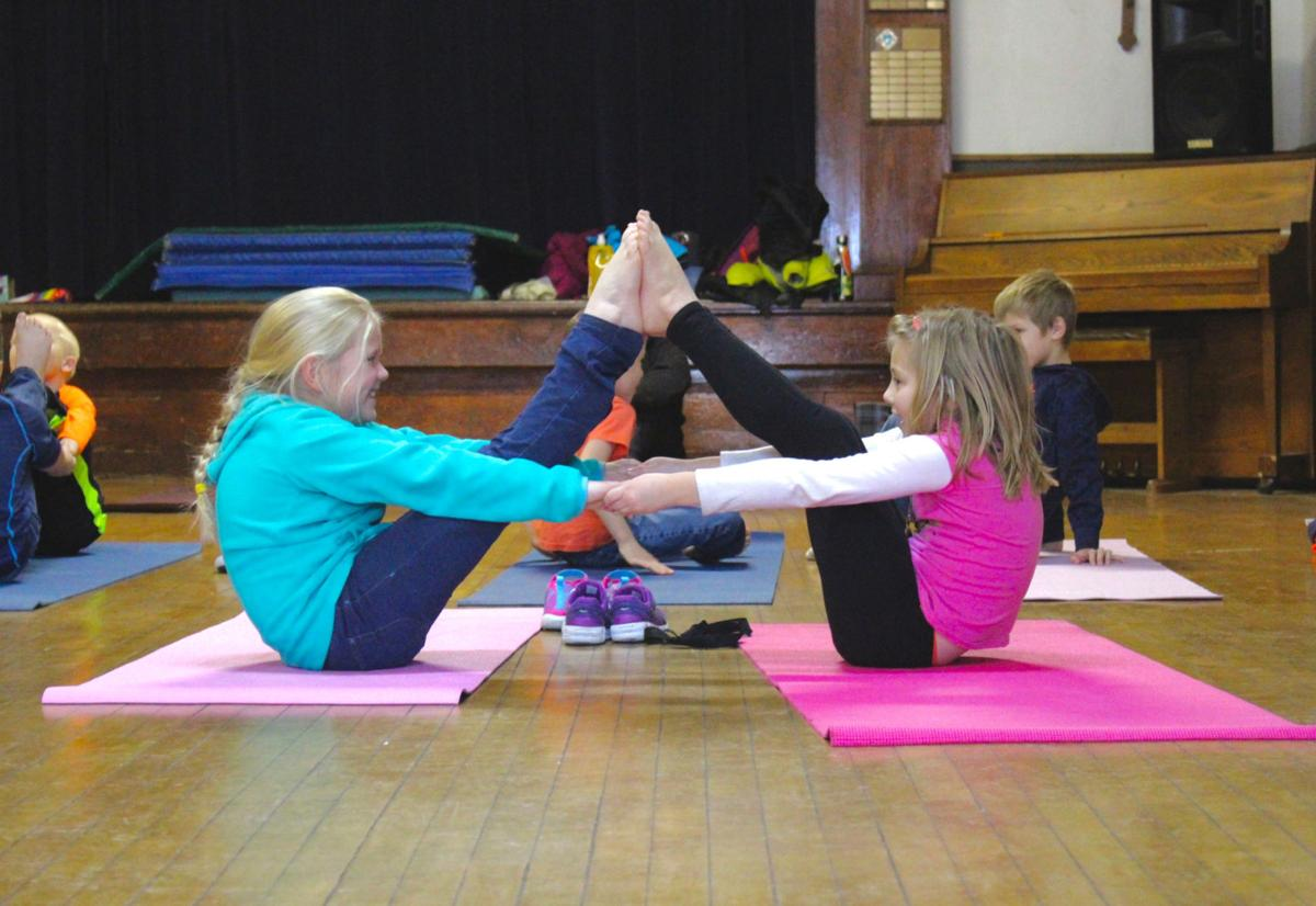 St. Peter's yoga duo