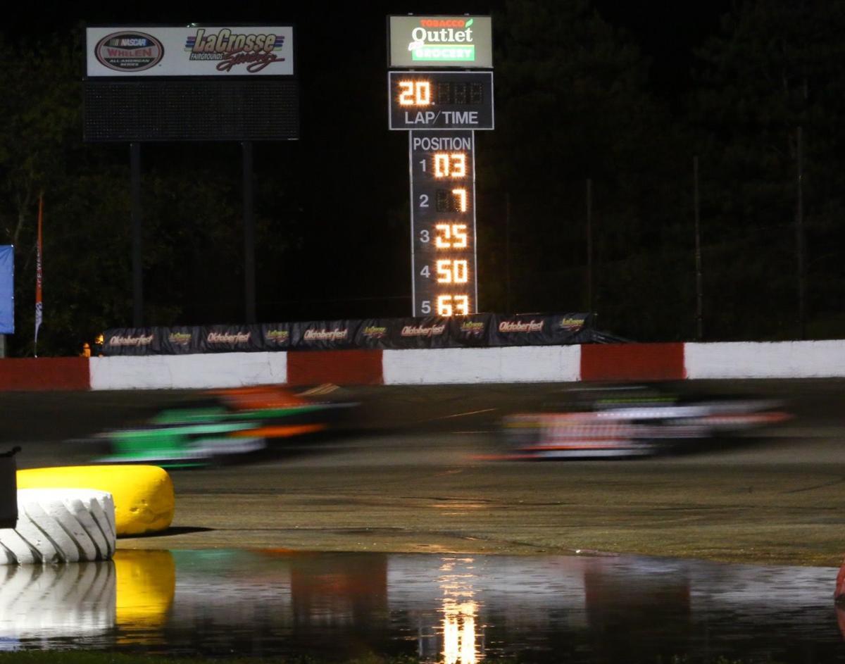 La Crosse Fairgrounds Speedway: Steady rain complicates schedule for Oktoberfest Race Weekend