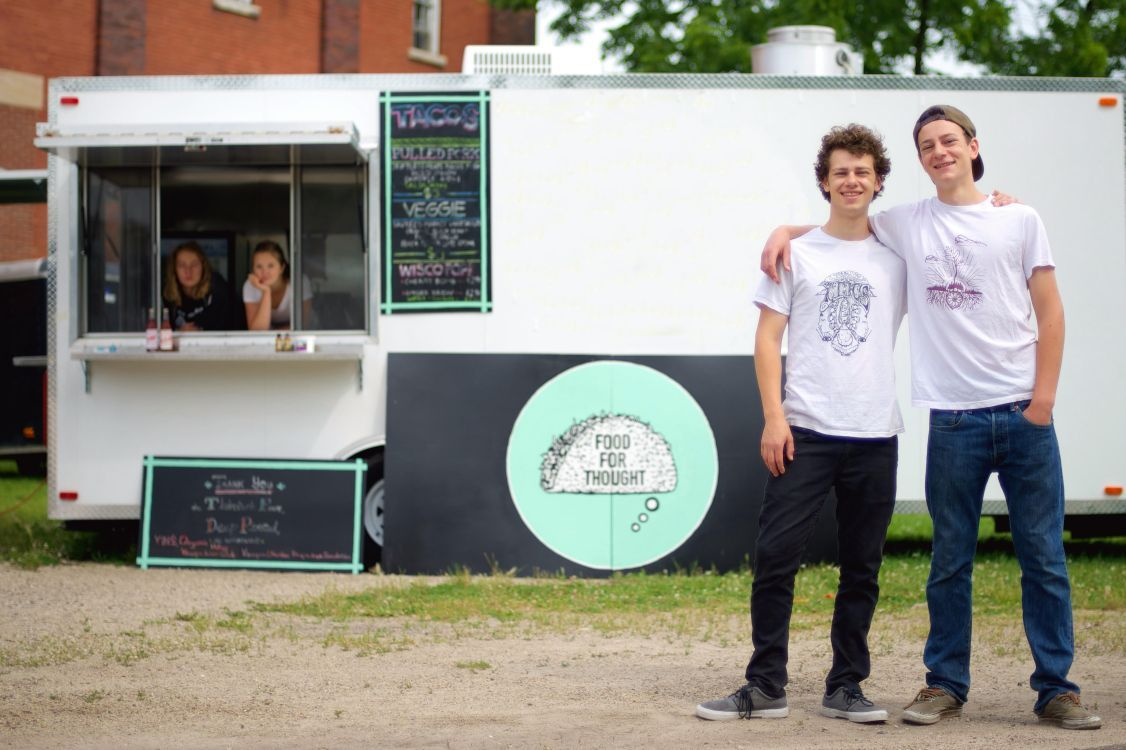 Student-run food truck