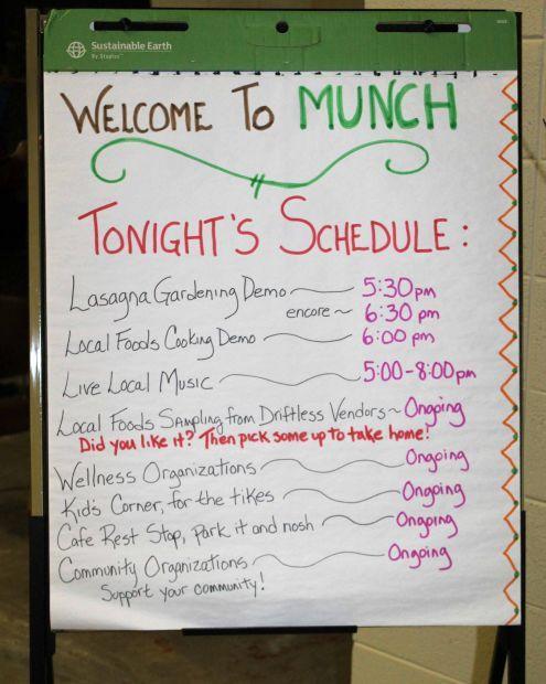 MUNCH schedule