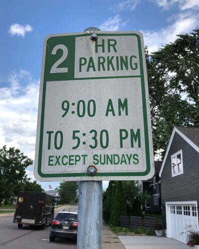 Two-hour parking
