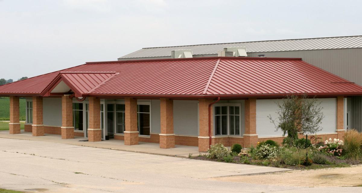 Premium Iowa Pork-town of Viroqua building