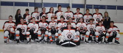 Viroqua cooperative boys hockey team 2018