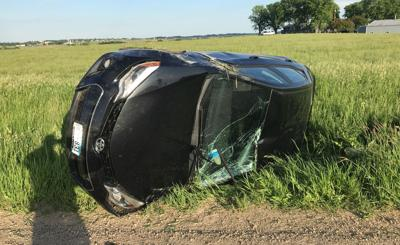Rollover accident Beagle