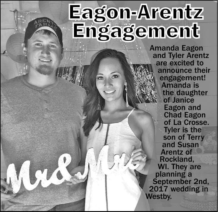 Amanda Eagon and Tyler Arentz