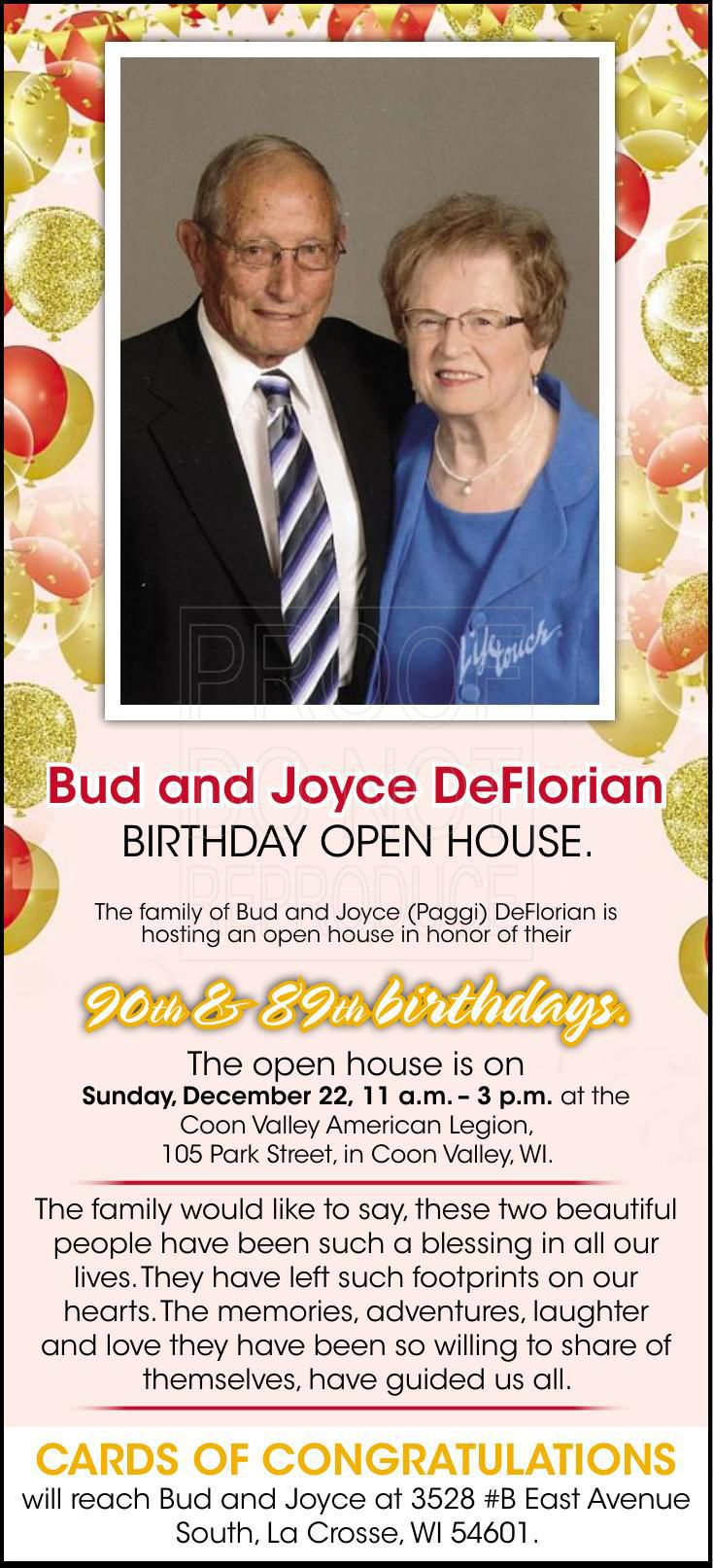 Bud and Joyce DeFlorian