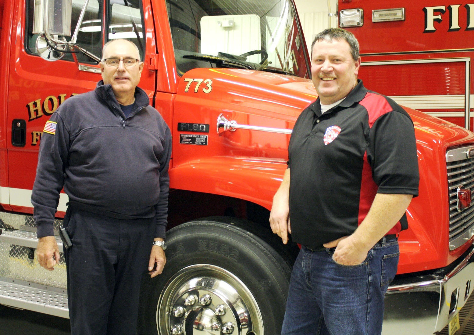 Holmen Area Fire Department Suspended fire chief