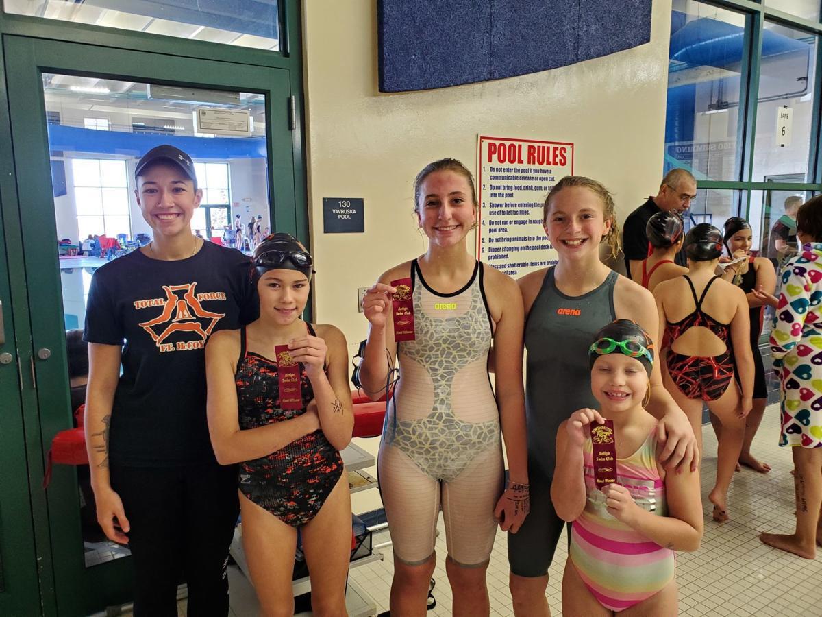 Girls medley relay