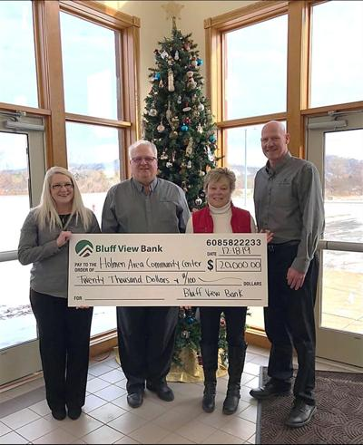 Donation to Holmen Area Community Center