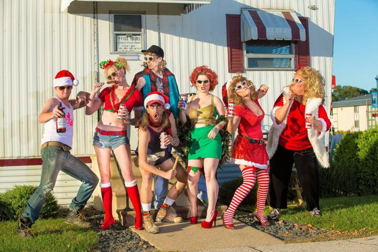 Trailer Park Christmas.The Great American Trailer Park Christmas Musical Theater