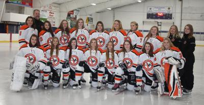 Viroqua cooperative girls hockey team 2019-2020