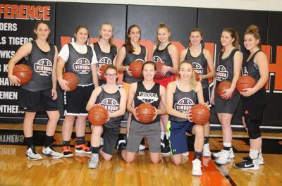 Viroqua High School girls basketball team 2019-2020