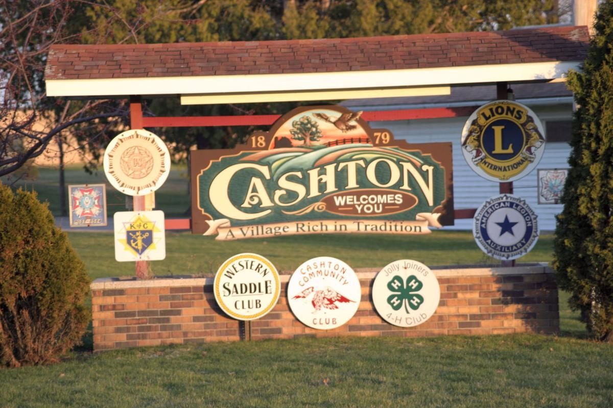 Cashton sign