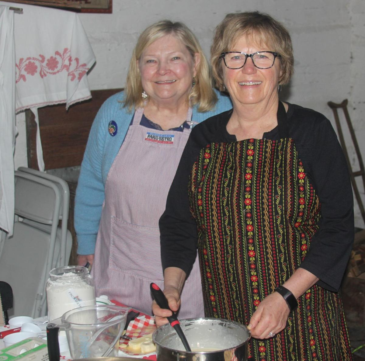 Norwegian pancake making