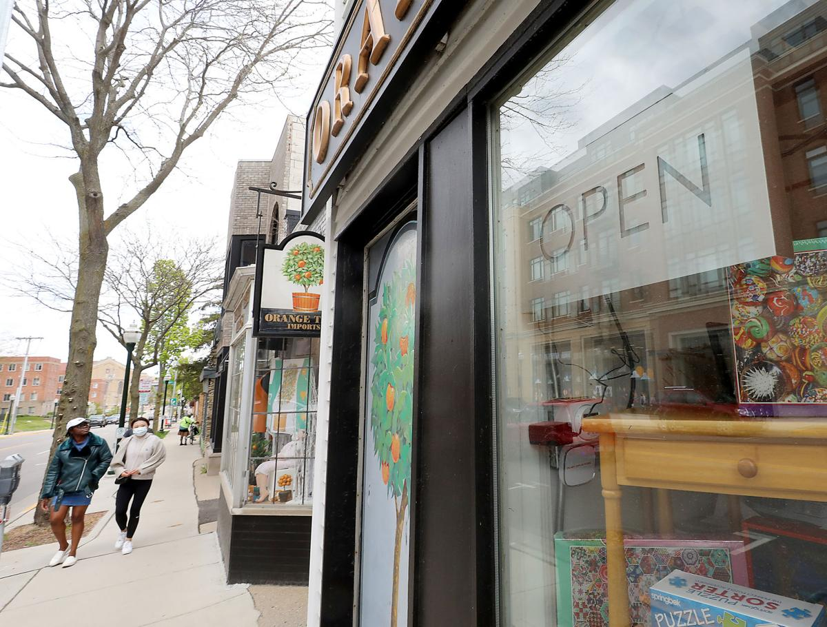 Small retailers reopening