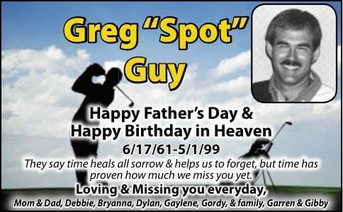 """Greg """"Spot"""" Guy"""