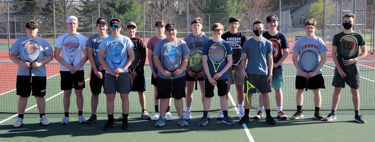 Viroqua High School boys tennis team 2021