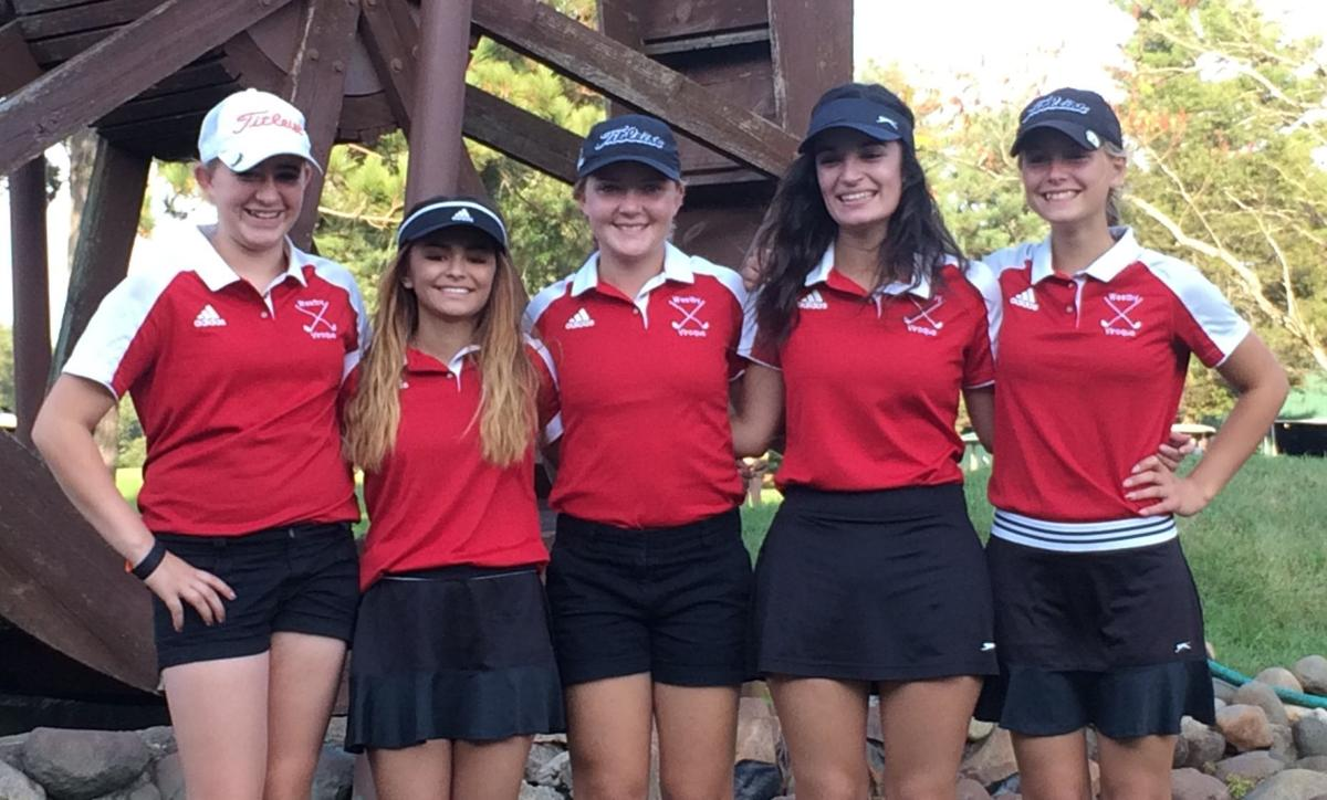 Westby/Viroqua girls golf at sectionals