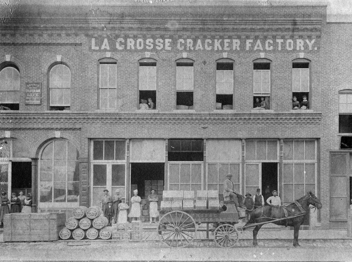 The Way It Was: La Crosse Cracker Co. factory