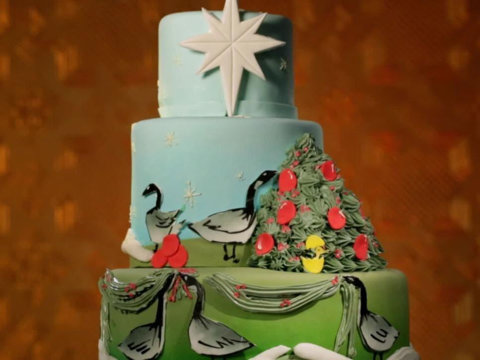 Jen Barney's winning cake