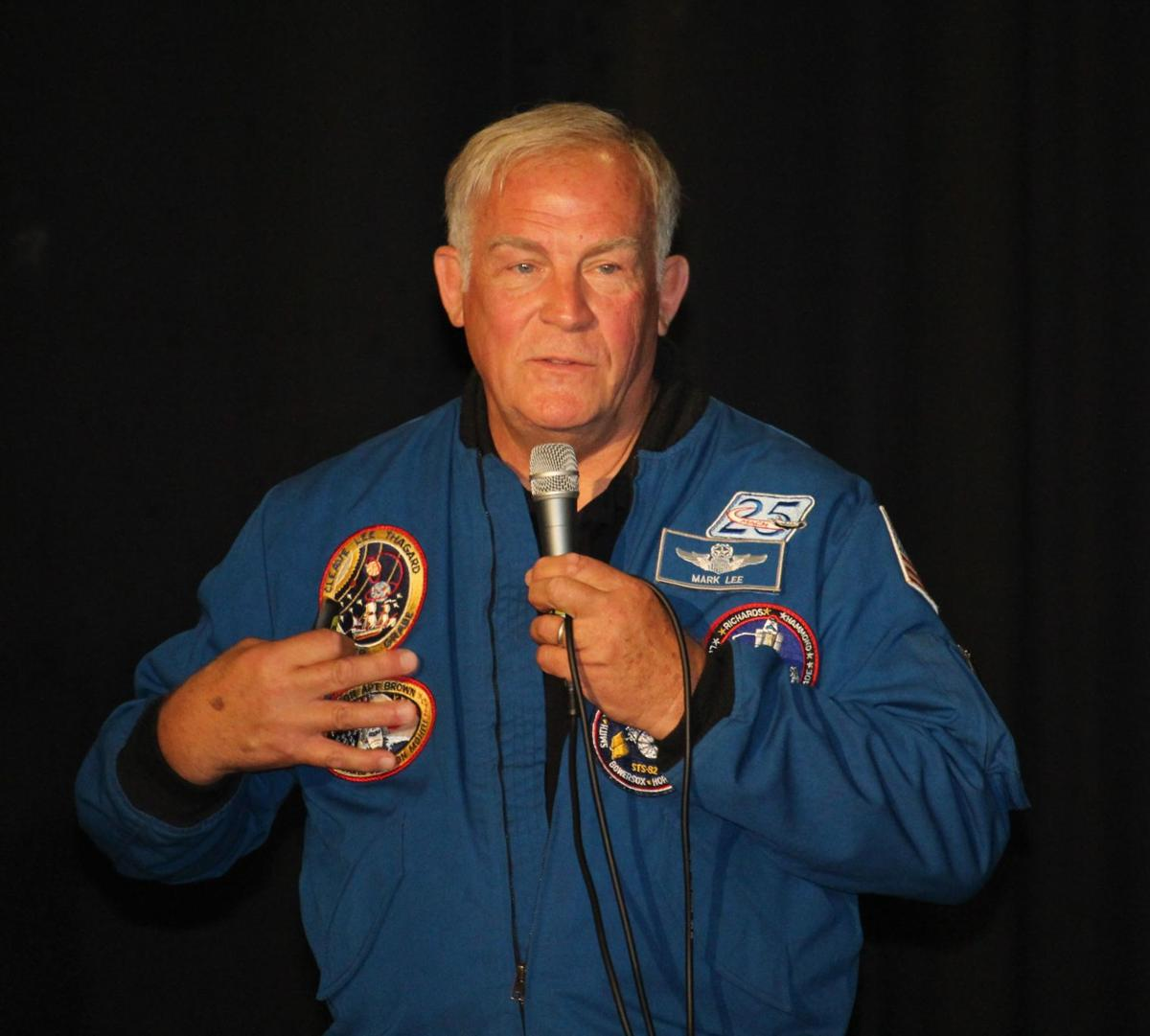 Former astronaut talks