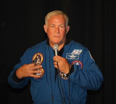 Former astronaut talks