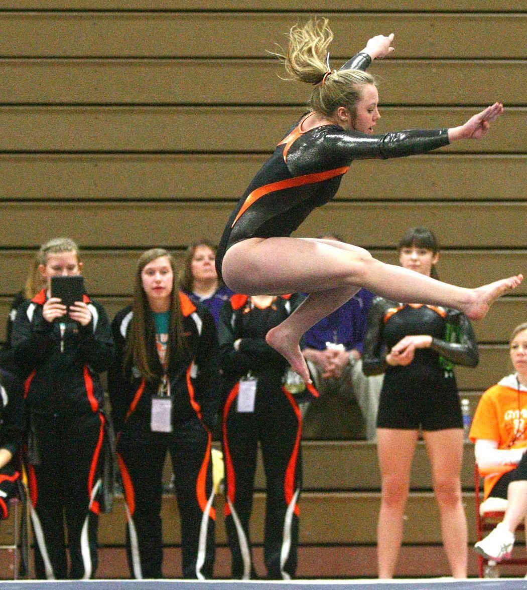 Viroqua gymnastics team fourth at state ...