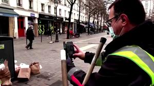 Garbage collector uses TikTok to keep Paris clean