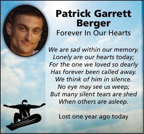 Patrick Garrett Berger