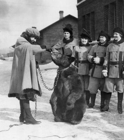 The Way it Was: Winter Carnival bear