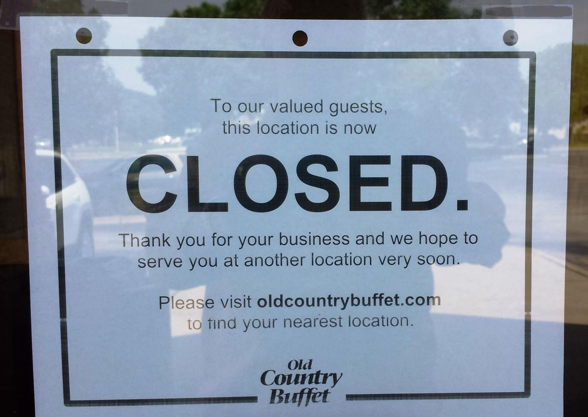 Old Country closed sign