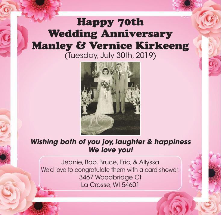 Kirkeeng anniversary