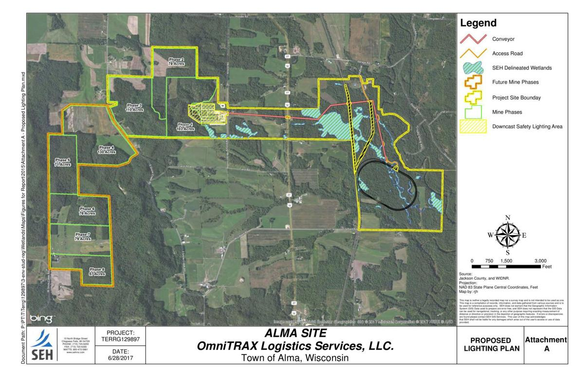 OmniTRAX project with wetland delineation