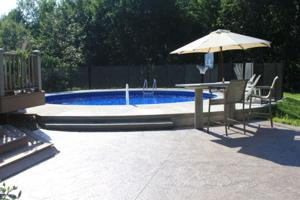 Custom Inground Swimming Pool